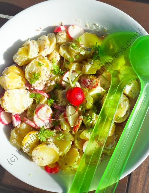 Salade de radis et pommes de terre / Radish and Potato Salad