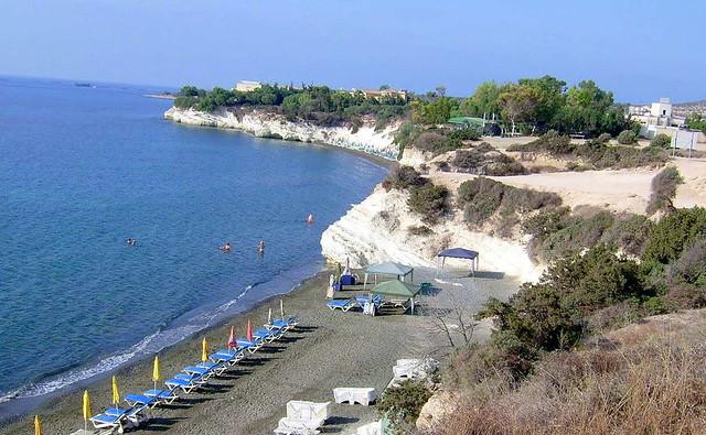 Пляж Губернаторский. Лимассол. Пляжи Кипра.