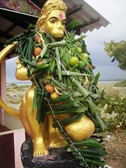 Anchaneyar Statue