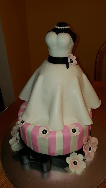 Bridal Shower Cake by Iulia Maria Cujba of Jules Cakery