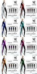 Wicca\'s Wardrobe - Liara Catsuit All Colors