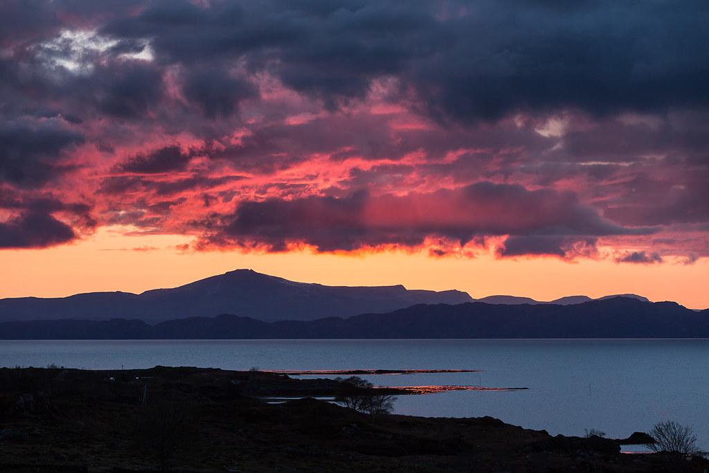 Applecross sunset 2015.05.01 [Explore]