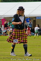 Nethy Bridge: Highland Games: Heavy Events