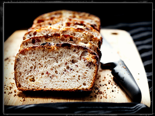 White Chocolate & Whisky Cranberry Sourdough Bread