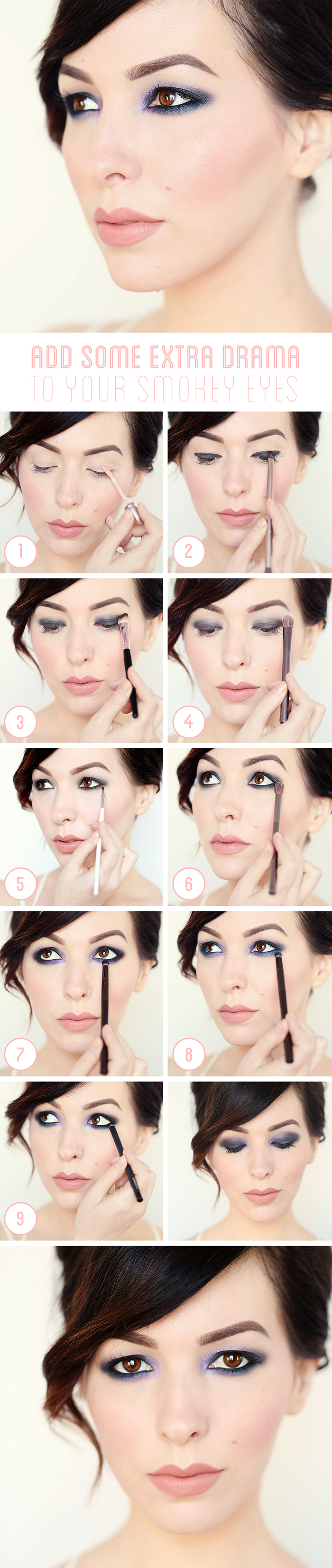 How To Dramatize Your Smokey Eyes
