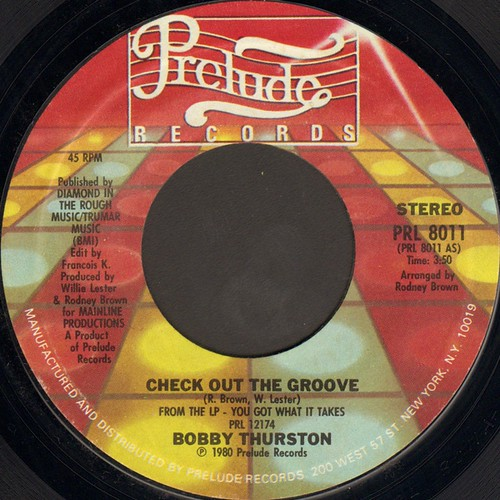Bobby Thurston-Check Out The Groove7