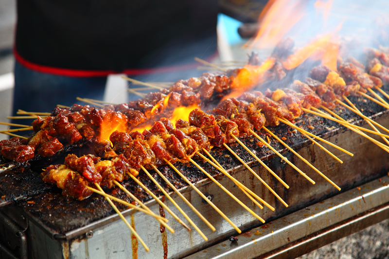 Grilling-Satay-Kajang