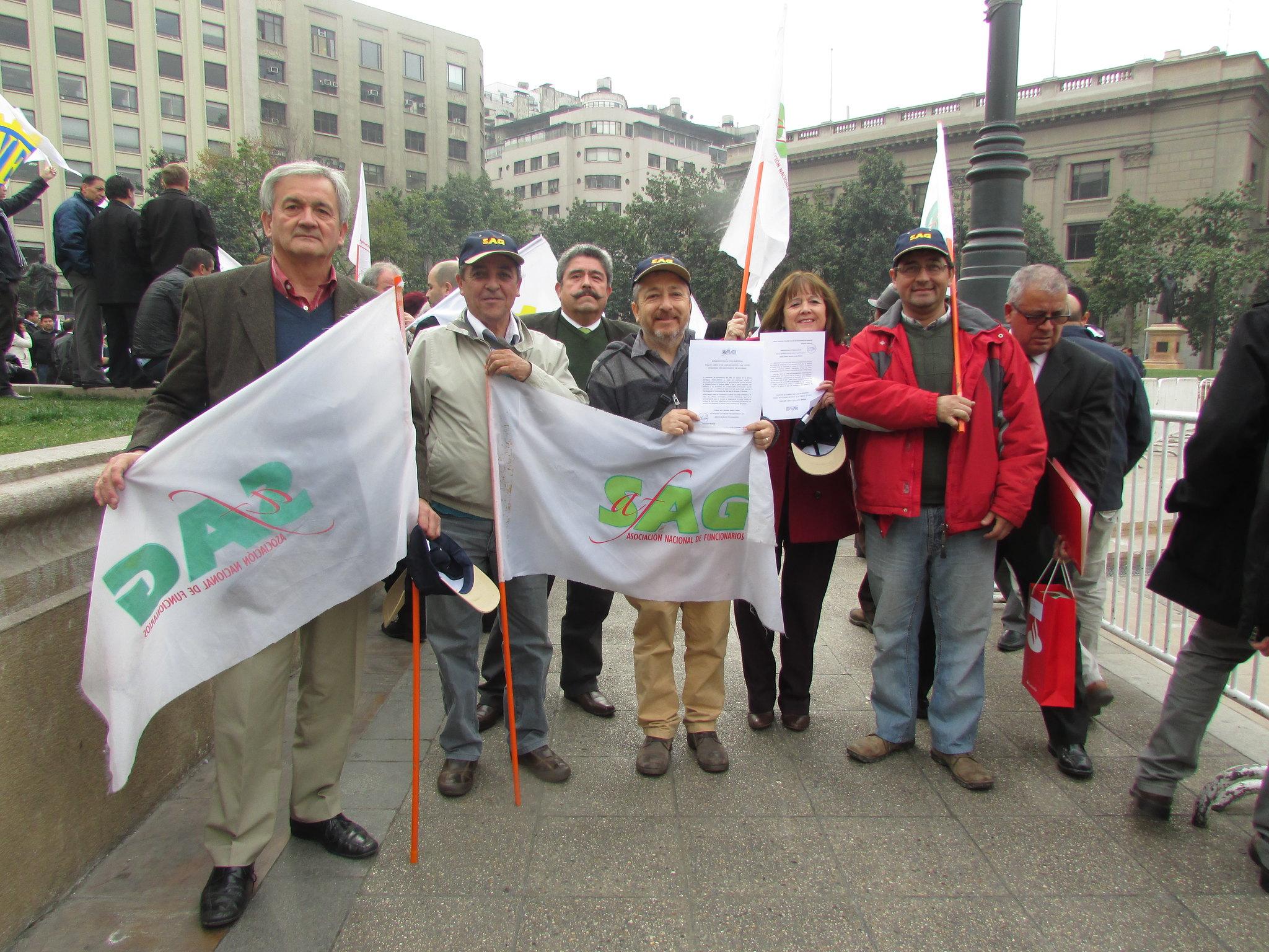 AFSAG ratifica Paro Nacional a partir del 1° de Junio en acto en Palza de la Constitución - 28 Mayo 2015