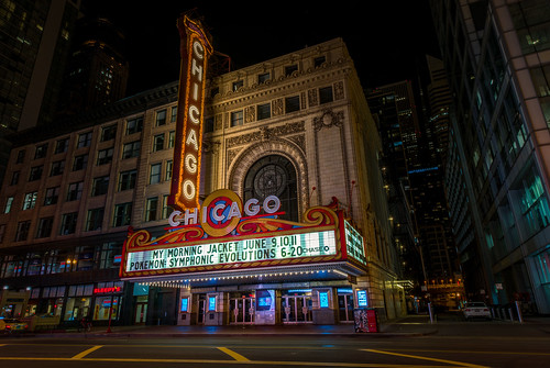 The Chicago Theater by Geoff Livingston