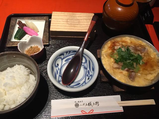 京都地鶏のあんかけ親子丼