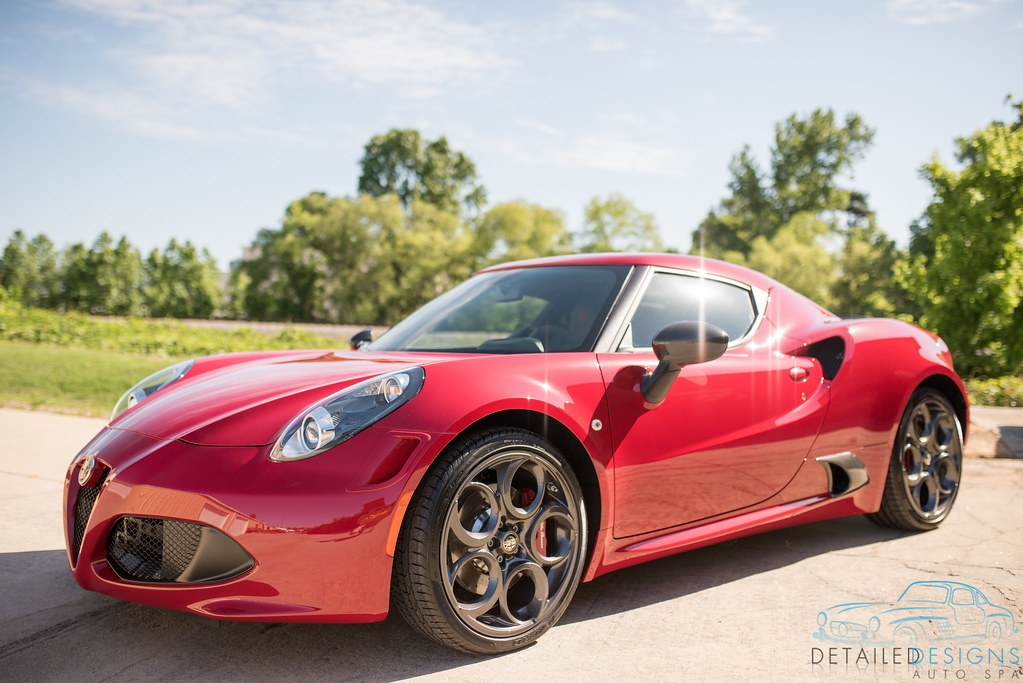 Clear Bra Installed on an Alfa Romeo 4c in Atlanta