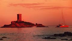 Sunset méditerranée by laurent 297