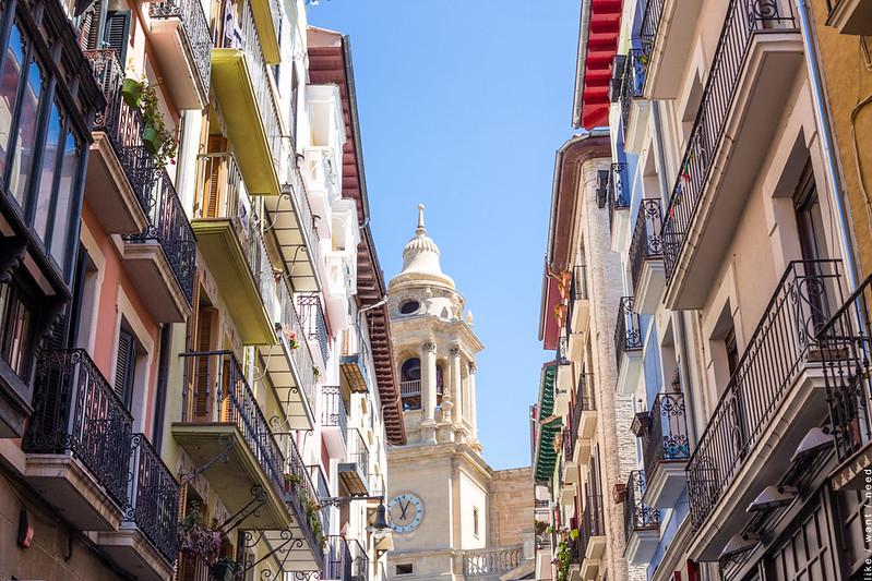 Calle Navarrería, Pamplona