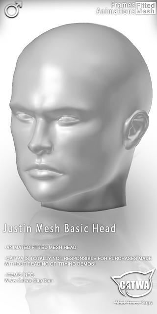 CATWA HEAD Justin