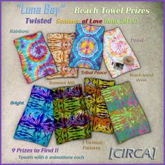 Luna Bay - Beach Towel Prizes - Twisted Summer Hunt