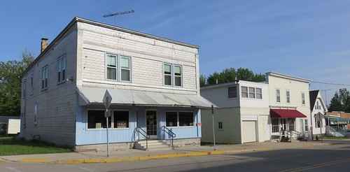 Storefront Buildings (Poy Sippi, Wisconsin)