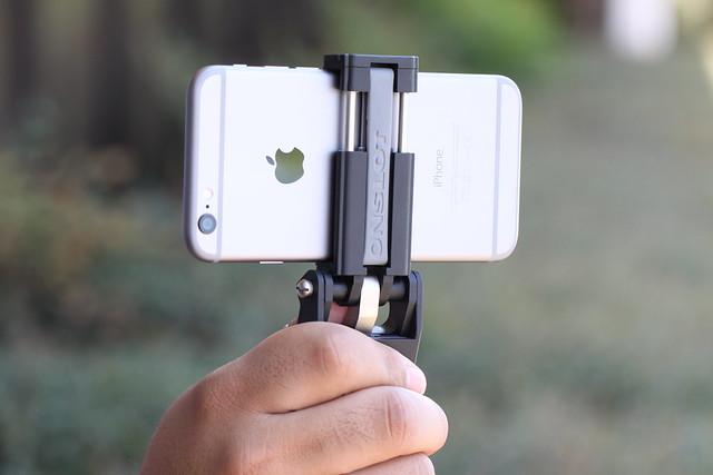 iPhone 6 and FlipMount