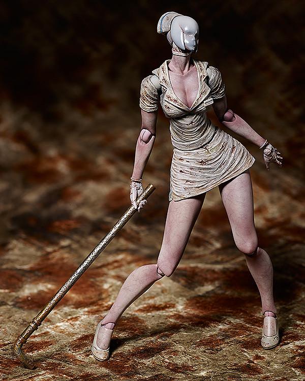 白衣惡魔再度來襲~figma《沈默之丘2》腫臉護士