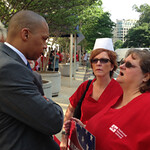 Nurses Demonstrate for Patient Care Bill & Against VA Management Attacks