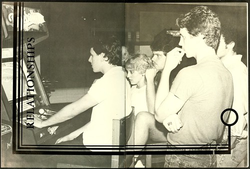 arcades 1980s yearbooks annuals wingateuniversity