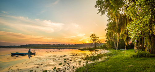 sunset lake nature water clouds landscape photography boat unitedstates florida sony canoe explore tallahassee serendipity paddling fishcamp 2015 a99 sonyalpha lakeiamonia minolta1735mmf284 sonya99 sonyslta99 kimmienflorida explore05032015 yourbestshot2015