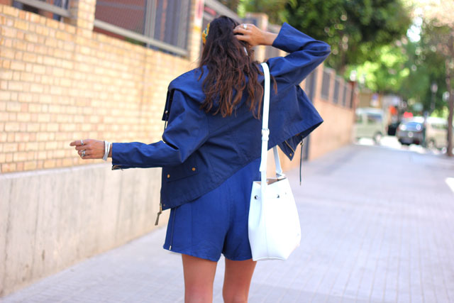 blue jumpsuit coohuco 6