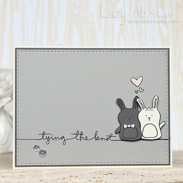 Tying the Knot Bunnies by Lucy Abrams