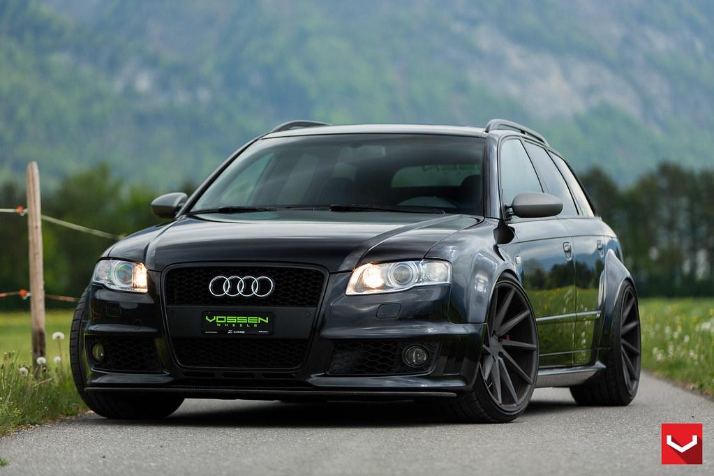 B7 Audi Rs4 Wagon 20 Quot Custom Cvt Vossen