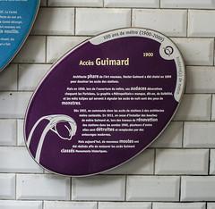 Photo of Purple plaque № 39470