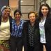 Leymah Gbowee, Seema Mathur-Hopkins, Shirin Ebadi, Maritza Hernandez