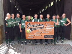 Sport Vinyl Banner - Jenison Softball Team
