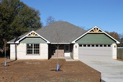 Another new home built by Parks Construction, located at 112 Clearfork in Gun Barrel City.