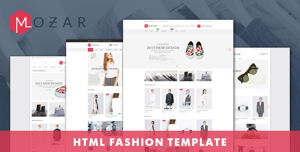 Mozar v1.0 - Fashion Clothing Bootstrap Template