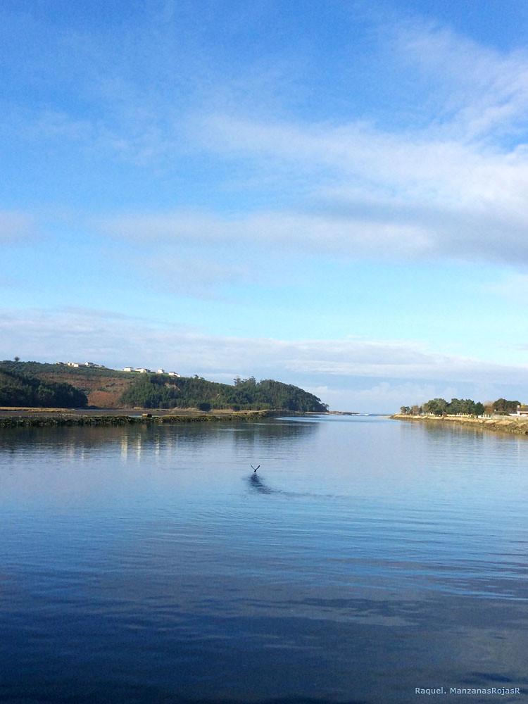 Ría de Navia (Asturias). Desembocadura. ManzanasRojasR