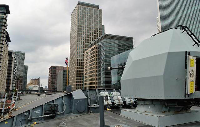 HMS Duncan (35)  @ West India Dock 21-05-16