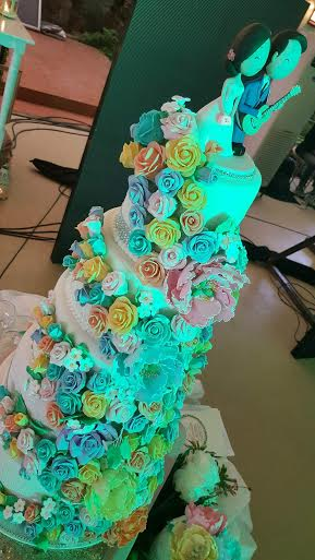 Officially Forever Wedding Cake by Kokijo