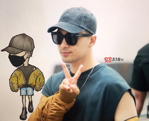 Big Bang - Incheon Airport - 24jun2016 - YB 518 - 01