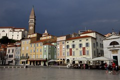 Piran, just before the thunderstorm.