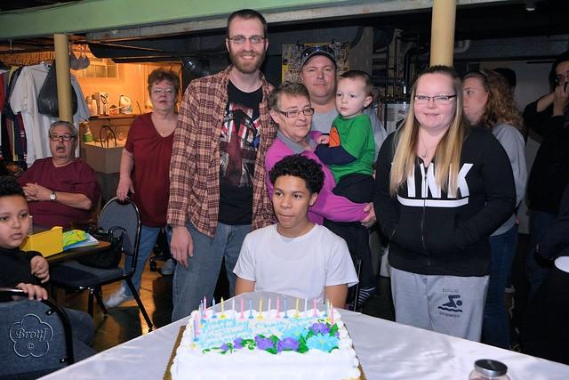31. Birthday Crowd
