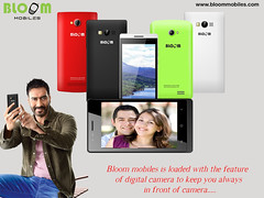 Bloom Mobiles Loaded With The Feature Of Digital Camera