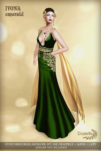 DANIELLE Ivona Emerald