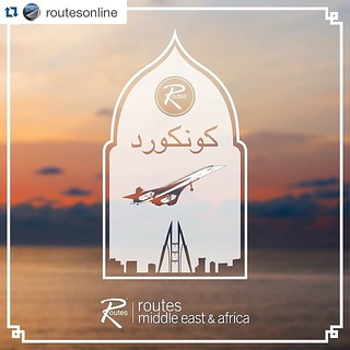 #Repost @routesonline 2 days to go until #RoutesMEA  For a brief period, British Airways and Singapore Airlines used a shared Concorde for flights between Bahrain and Singapore Changi Airport with different livery painted on each side.  #aviation #to