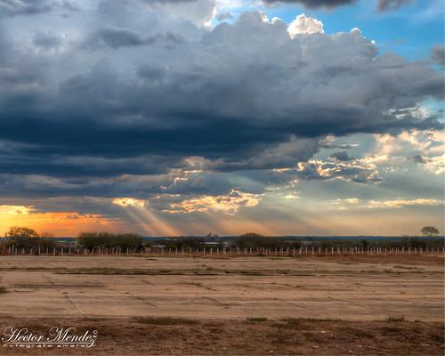 sunset sky clouds atardecer nikon venezuela cielo nubes hdr guarico d3000 valledelapascua