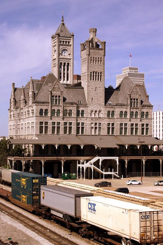Union Station (View from Demonbreun Viaduct)