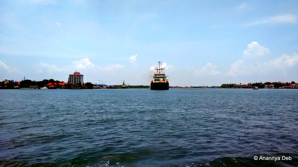Kochi Harbour, April 2015