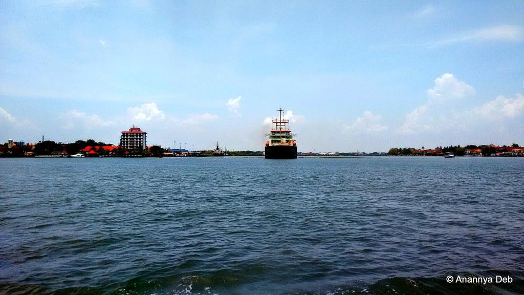 Kochi Harbour, April 2015