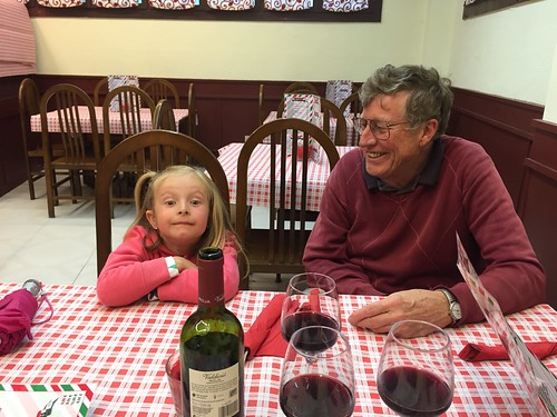 Dining with Grandpa