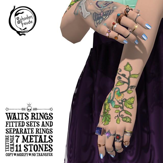 waits rings