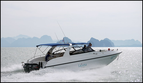 Speedboat near Phuket