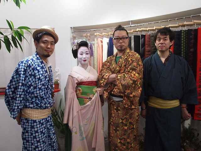 Maiko at Robe Japonica